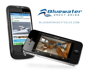 Bluewater Yacht Sales Launches New Mobile WebSite