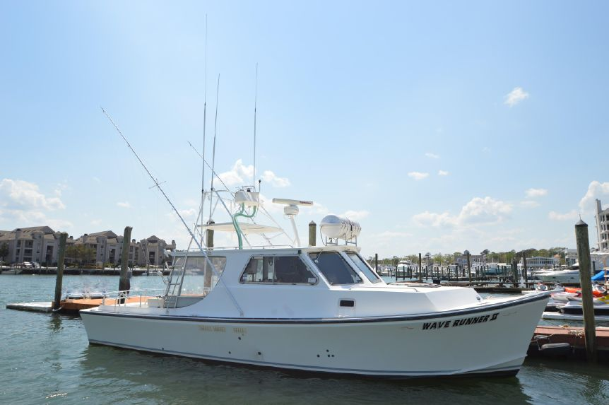 Offshore 100 Mile Passenger Certified: 2006 Evans Custom Deadrise Sportfisherman Reduced $199,975.00
