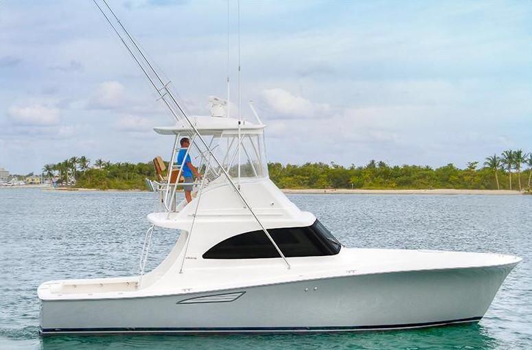 Viking 37 Billfish Arrives at Bluewater YachtingCenter