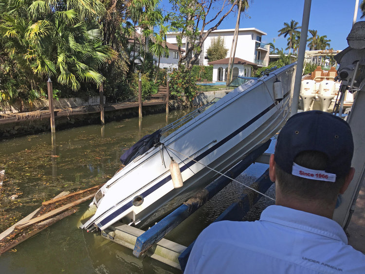 Warning: Hurricane-Damaged Boats Soon Hitting the Used Boat Market