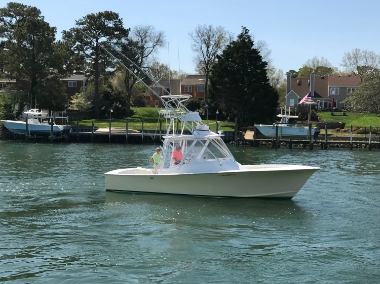 2001 Custom Rambo 34 Fisharound