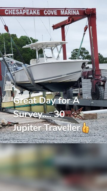 Great Day for A Survey.... 30 Jupiter Traveller👍